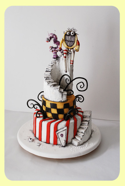Tim Burton Inspired Cake 30th Birthday This Was A Cake