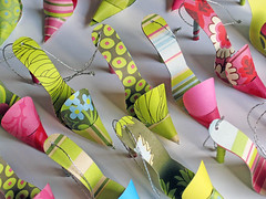 Paper Craft - Shoe Tags for Purses | by Carlos N. Molina - Paper Art