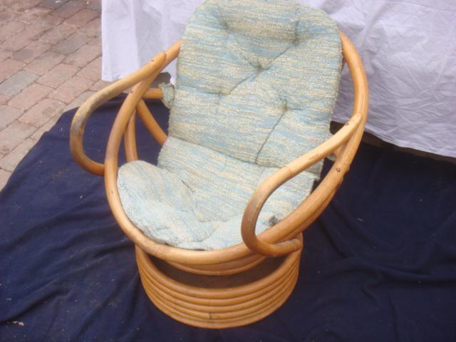 Delicieux Cushion | By Bunsaloo Bowl Shaped Bamboo Chair W. Cushion | By Bunsaloo
