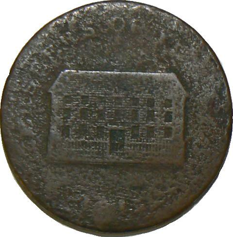 Token Indecipherable Possibly A Birmingham 18th Century