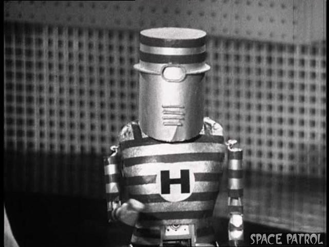 Telepathic Robot From Space Patrol Planet Classic Vintage Science Fiction Sci Fi TV
