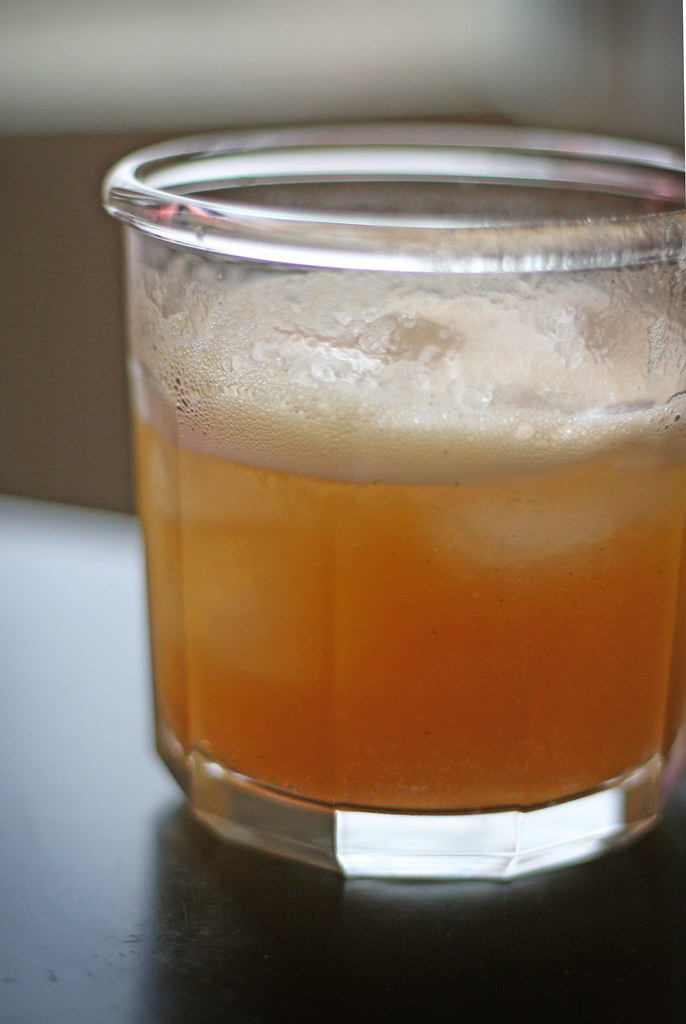 apricot vanilla bean soda | made from last summer's jam ...