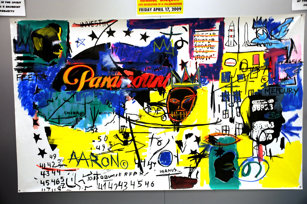 Warhol/Basquiat Collaborative Painting | Images from the ...