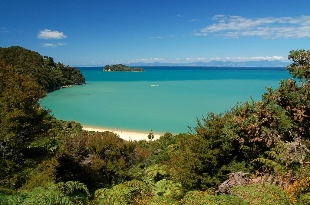 abel tasman national park map pdf