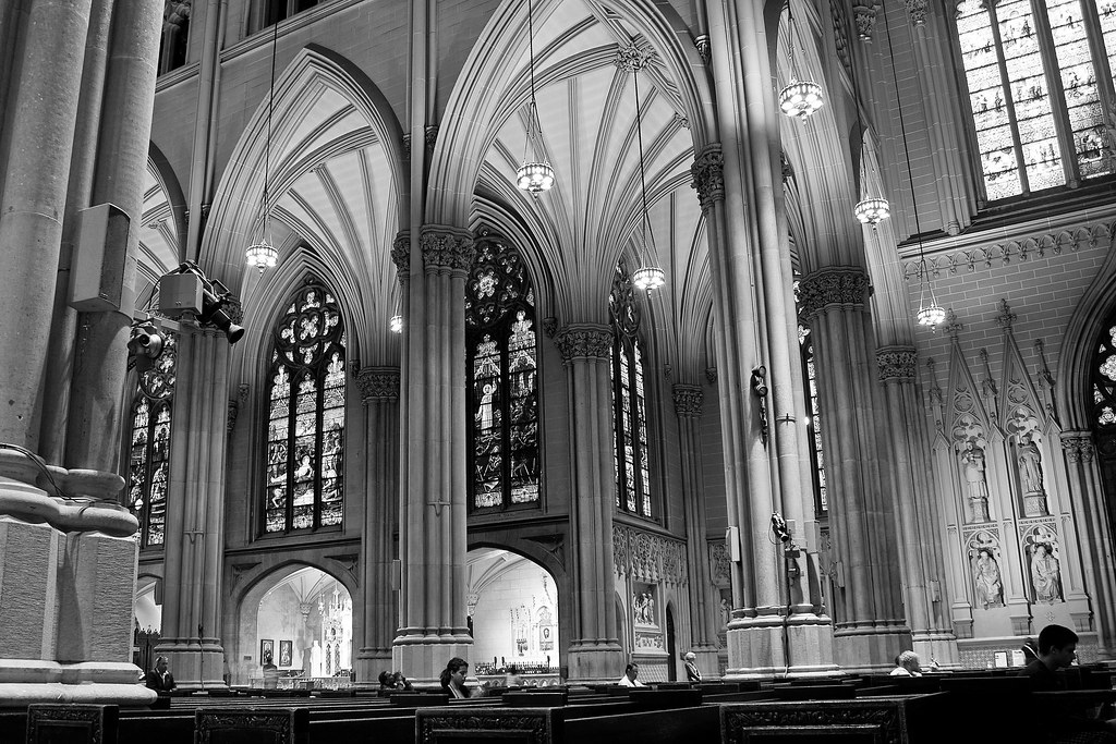 St Patrick S Cathedral Interior Of St Patrick S Cathedra Flickr