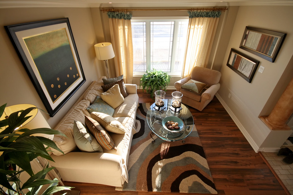 Living Room Chocolate Color Design Wall Paint