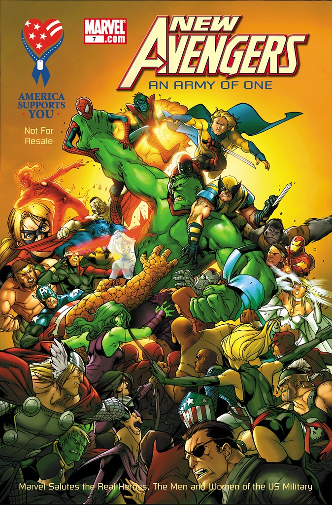 aafes  marvel 2009 new avengers an army of one