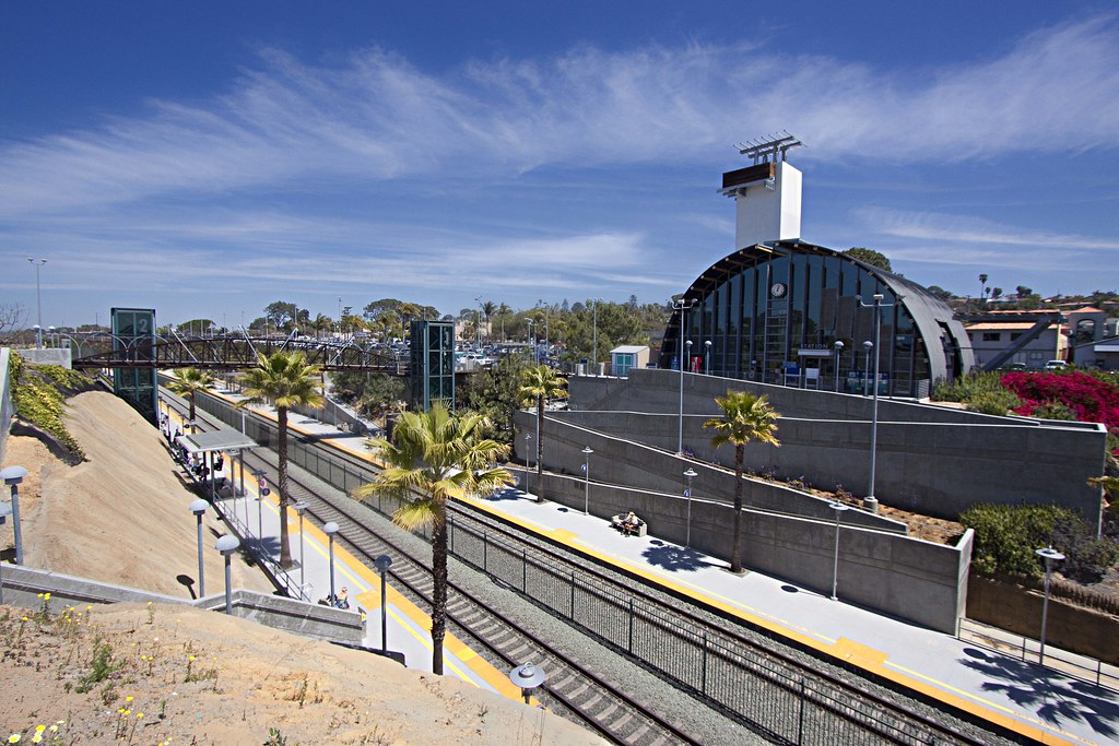 Solana Beach Train Station California Solana Beach Train Station