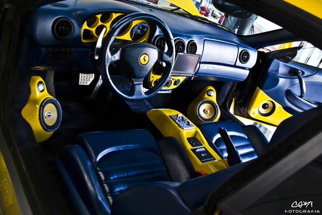Test Driven: Ferrari 360 Modena F1(8/10) | Mind Over Motor |Ferrari 360 Modena Interior