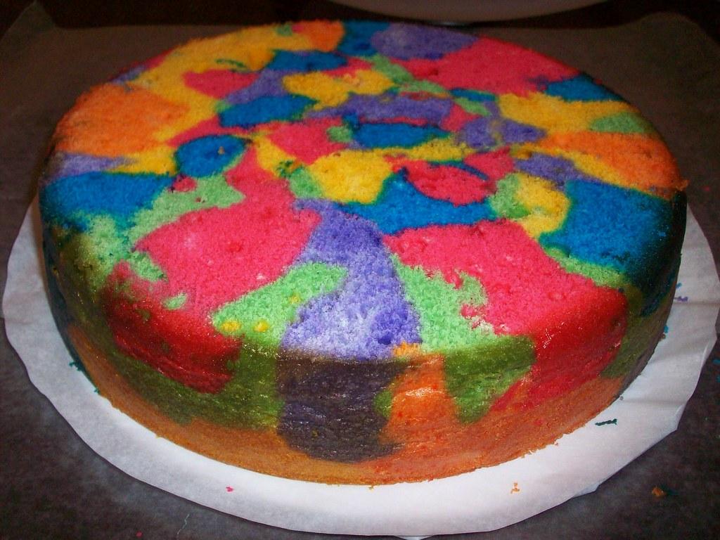 How To Dye Cake Batter