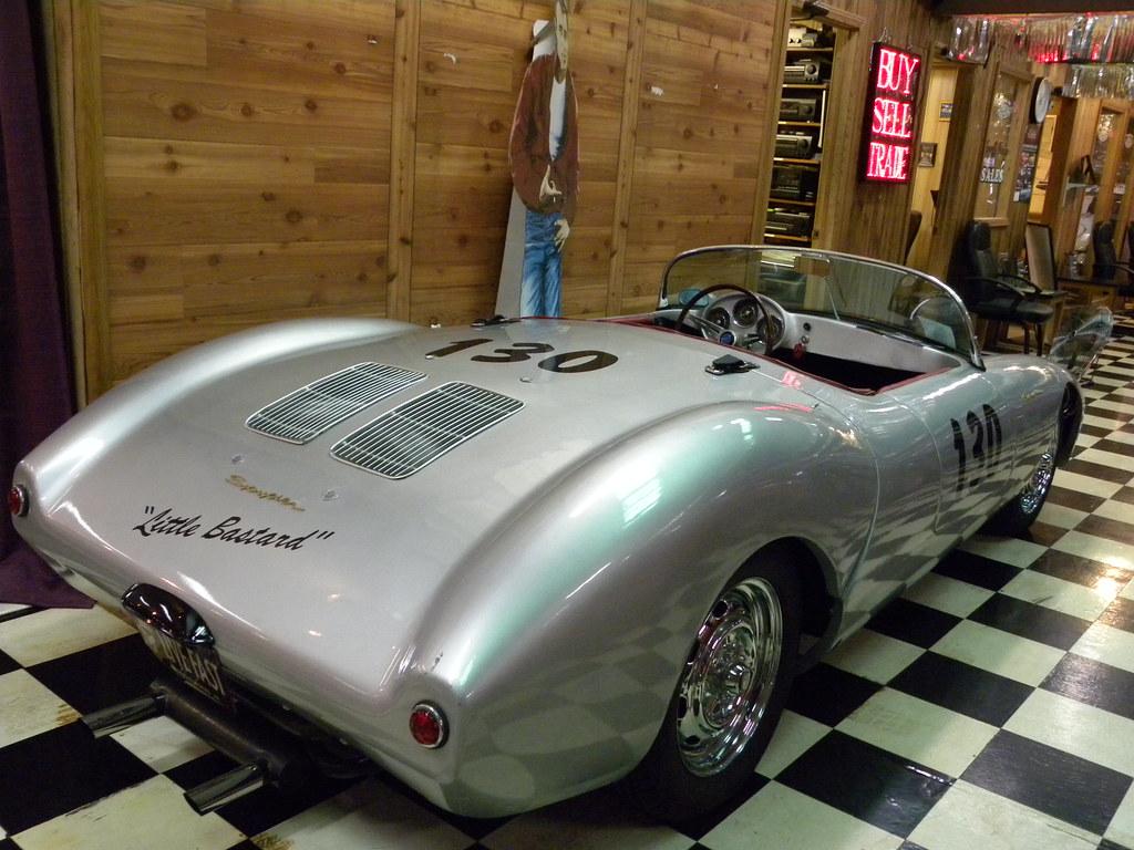 1955 Porsche 550 Spyder James Dean Little Bastard The Dark
