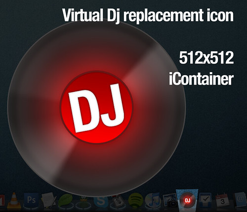 Virtual Dj replacement icon | Download it from KarlRoos ...