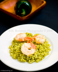 Poblano risotto | by arimou0