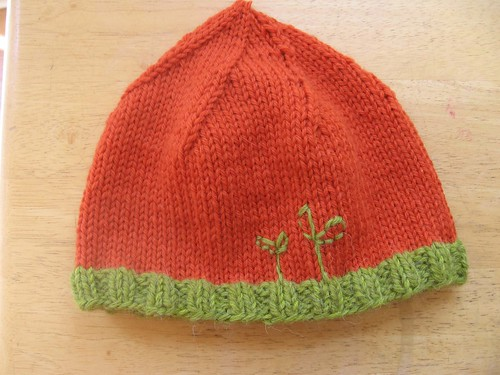 carrot inspired hat | by Kim's Suitcase