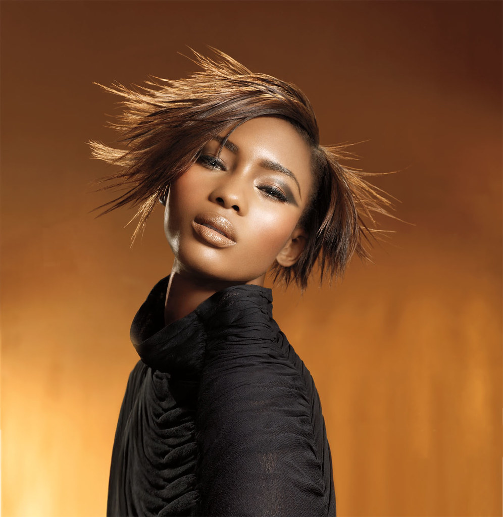 Short  Straight Black Hairstyle By Mizani  Visit Black -3581