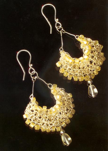 Crochet Jewelry Chandelier Drop Earrings Check Out Jenni Flickr