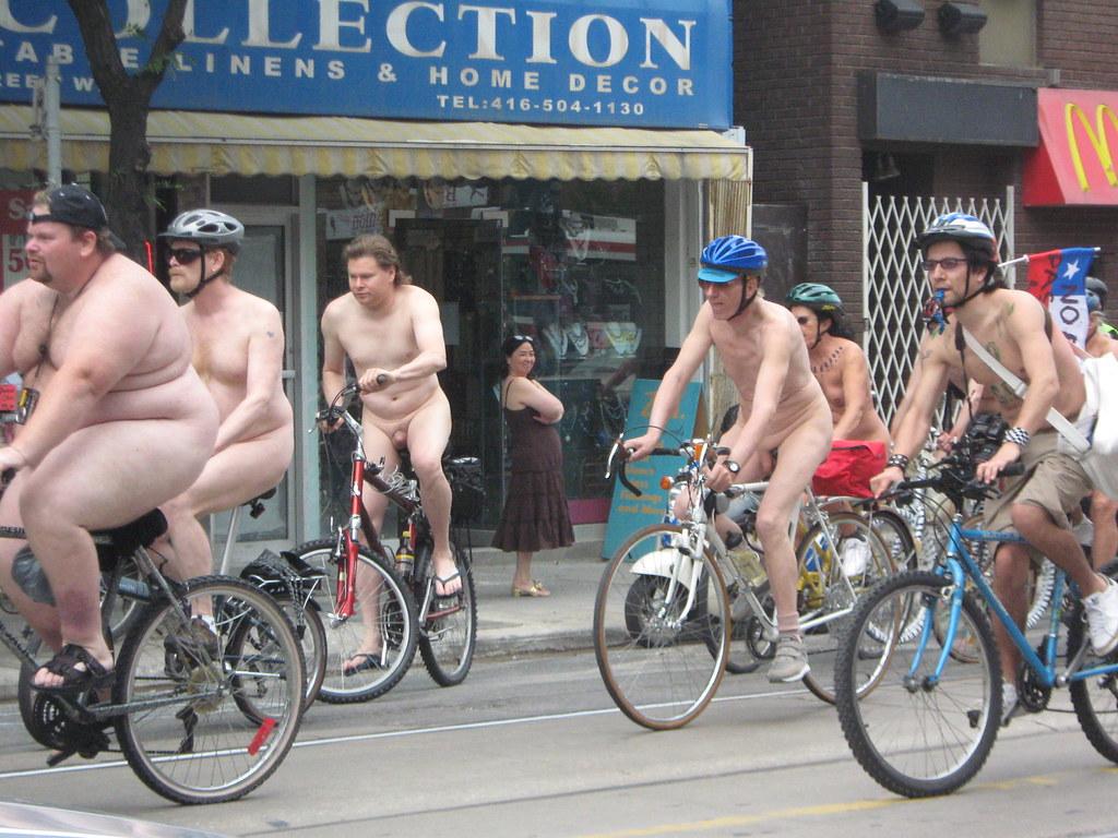 Nude bike ride toronto 9