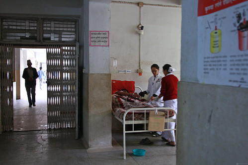 A ward in Pokhara Regional Hospital | by World Bank Photo Collection