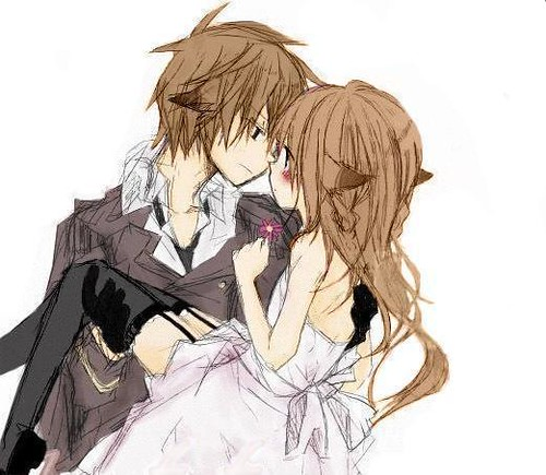 Prince and princess neko prince and princess fell in - Anime couple pictures ...