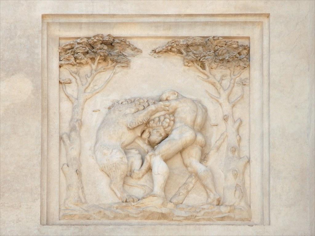 Bas relief antique sur la fa ade de la villa m dicis rome - La cuisine de la rome antique ...