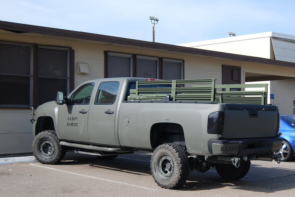 united states navy chevy silverado crewcab pickup truck flickr. Black Bedroom Furniture Sets. Home Design Ideas