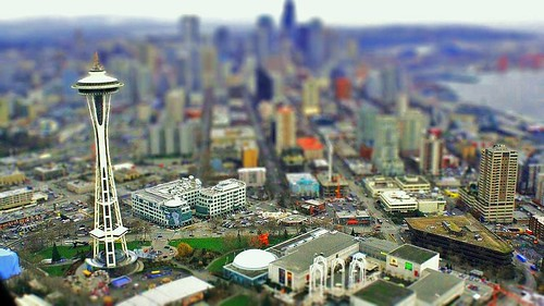 Seattle Skyline [Tilt-Shift] | by Karzdan