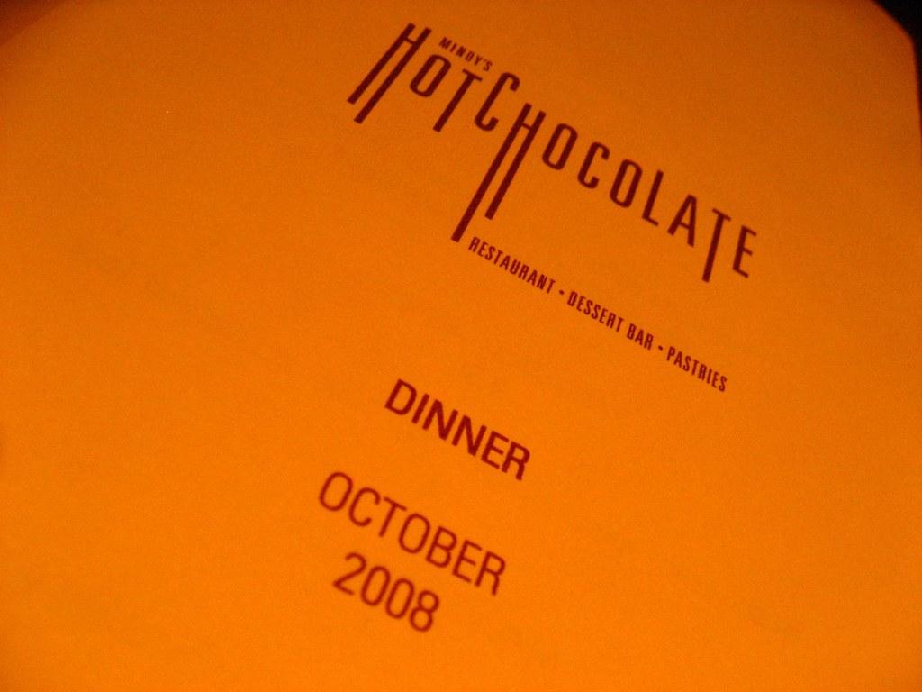 Hot Chocolate Chicago Restaurant