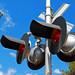 Arizona Eastern Railway Crossing Signal, Globe, Arizona