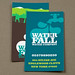 Graphic Water Company Business Card