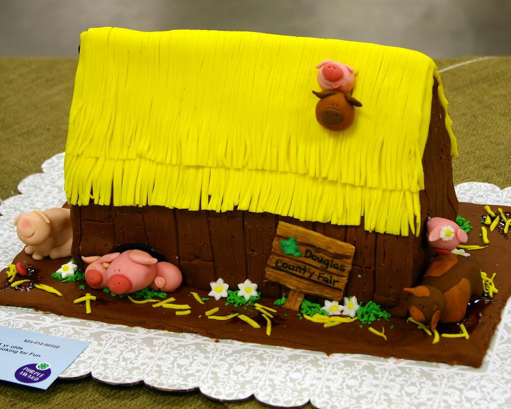 The Cake Barn Wedding Cake Warrington
