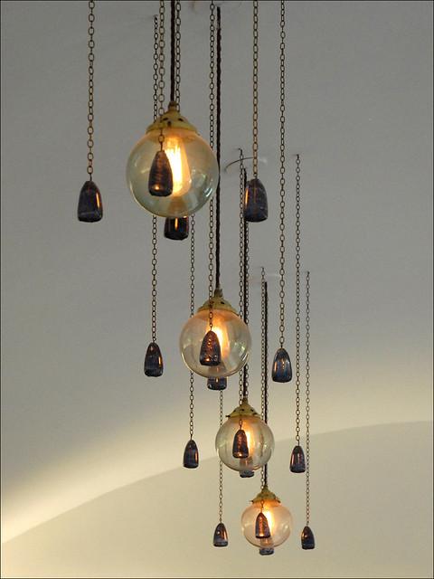les luminaires de la salle manger house for an art love flickr. Black Bedroom Furniture Sets. Home Design Ideas