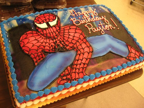 Spiderman Decorations For Cakes
