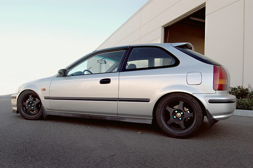 New Honda Civic >> Spoon SW388 + SiR Crap. | A full side shot of Adrian's ...