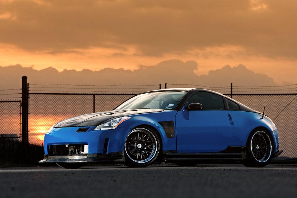 Leguna seca blue carbon fiber 350z my favorite shot from - 350z carbon fiber interior trim kit ...