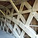 Woodwork in Covered Bridge
