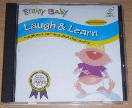 Amazon.com: Brainy Baby Laugh and Learn DVD (Classic ...