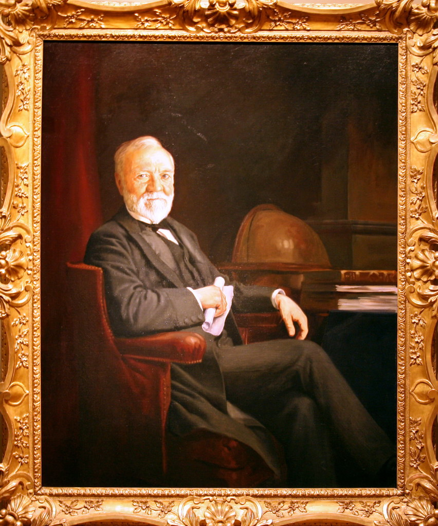 andrew carnegie andrew carnegie c oil on canvas by flickr