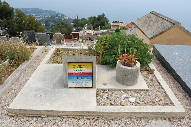 Grave of Le Corbusier and Yvonne Gallis