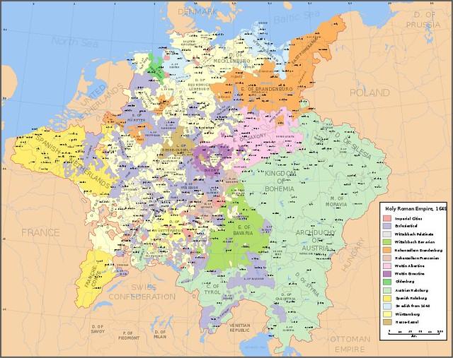 Resultado de imagem para sacro imperio romano germanico