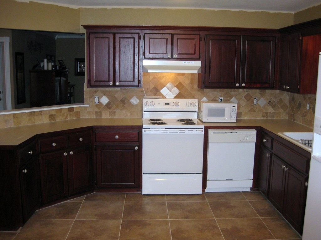 Tile In Dining Room And Kitchen