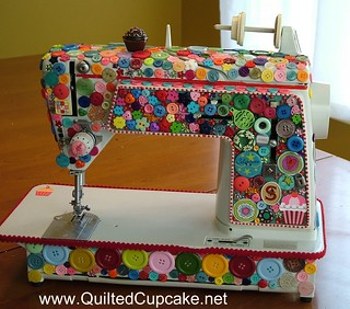 Quilted Cupcake Sewing Machine | by Quilted Cupcake