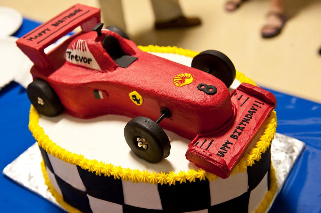 Ferrari Birthday Cake Decorations