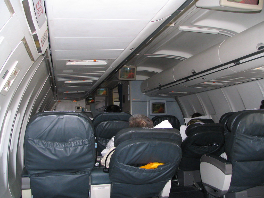 United Airlines 757 Business Class p.s. configuration | Flickr