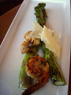 Grilled Shrimp and Asparagus | by swampkitty