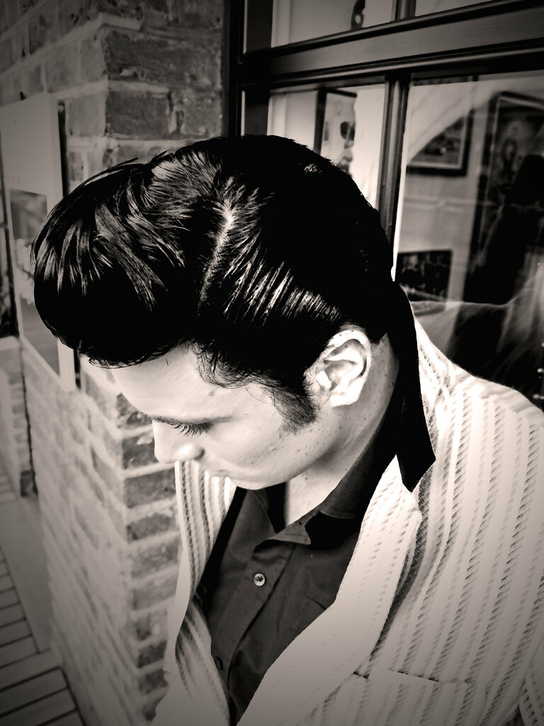 teddy boy hair style jackson hairstyle by mr ducktail www myspace 5611