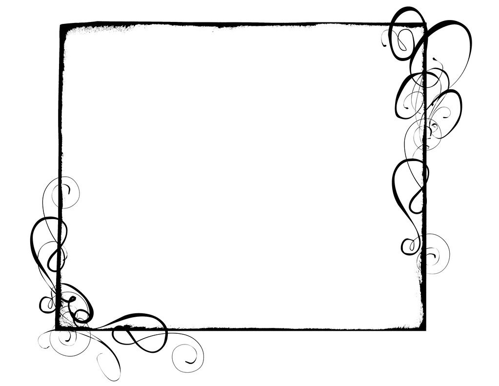 Line Art Box Design : Swirl border krithatsme flickr