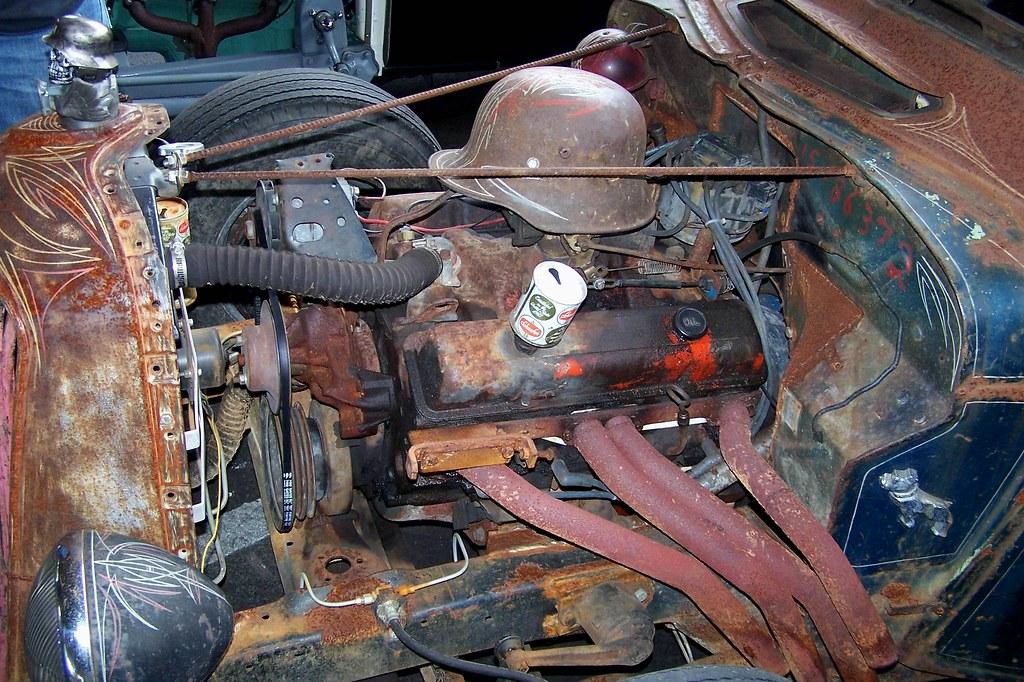 Built Rat Rod Air Cleaner : German helmet air cleaner rat rod brooklyn rumblers