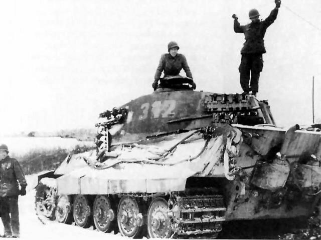 Dmp D971 Battle Of The Bulge German King Tiger Tank