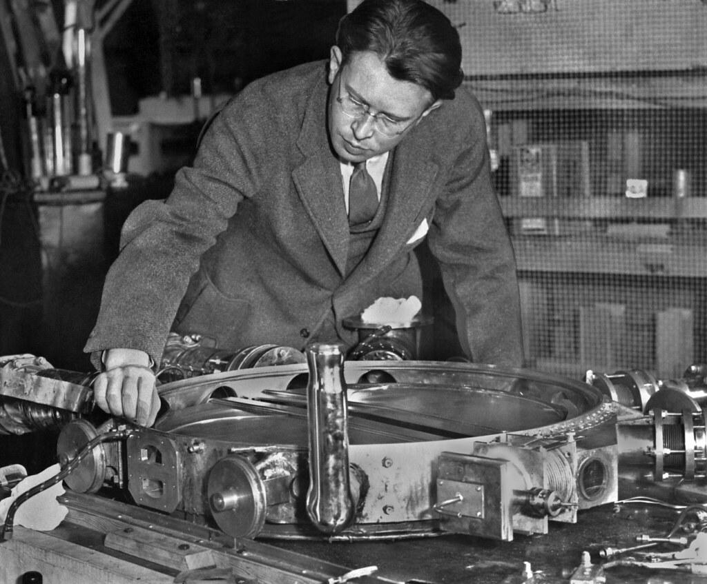 Physics Professor Building Warp Engine
