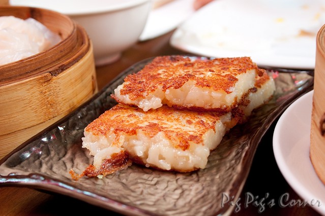 message on cake yum cha lo bak ko 蘿蔔糕 fried turnip cake flickr 5842